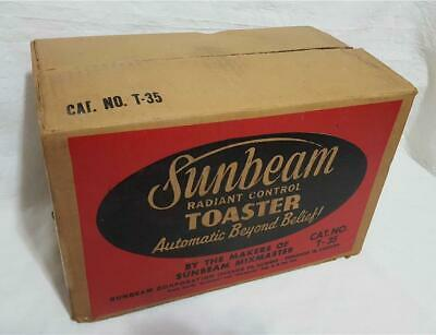 Vintage Sunbeam T-35 Radiant Control Toaster Box ONLY