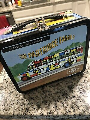 The Partridge Family metal lunch box Vintage 1971  NO Thermos