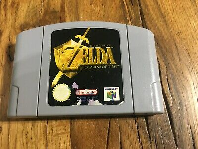 zelda ocarina of time nintendo 64 N64 Pal Eur