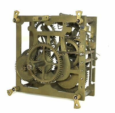 LYRE CUCKOO CLOCK MOVEMENT - ANTIQUE for parts or repair - KS68