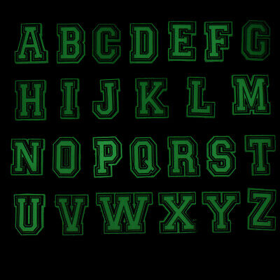 26pcs A-Z Letters Glowing Shoe Charms in the Dark fit Holes on Shoes Child Gifts