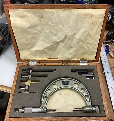 "Mitutoyo 0-4 "" Outside micrometer"