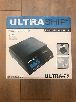 Ultraship Ultra75 Postage Weighing Scales New