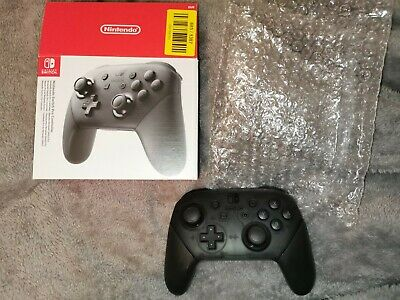 Official Nintendo Switch wireless Pro Controller ONLY USED FOR A FEW HOURS