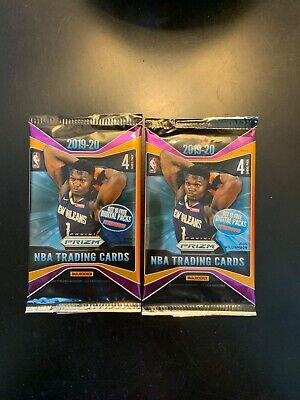 2019-20 Panini Prizm Ruby/Pink/Silver/Green PRIZM REFRACTOR (2x) Hot Pack LOT