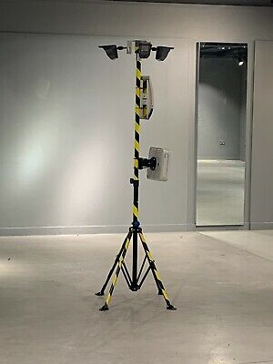 Portable CCTV Tower Mast for Videofied/Perimeter Beams/OCULi