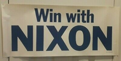 Win with Nixon Poster