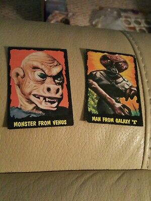 Rare OUTER LIMITS cards Bubbles Inc. Topps 1964 lot of 12 monster venus ++
