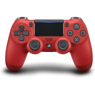 Official Sony Red Blue White Black Grey PS4 Dualshock 4 Wireless Controller NEW