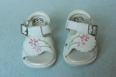 Kid Connection Baby Girls Leather Shoes Size 1