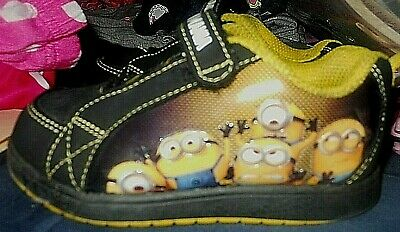 DESPICABLE ME MINIONS Athletic Shoes / Sneakers Sz: Youth 8 Pre-Owned