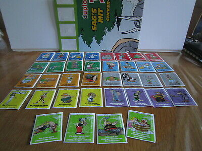 Asterix - DUPLO (nutella) 36 stickers (complete set) 2009 + poster