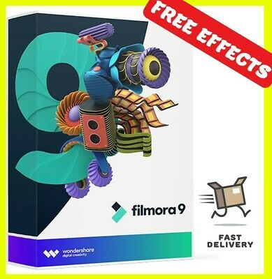 Wondershare Filmora 9 Full Latest Version For Windows & MAC ✅ + FREE EFFECTS ✅