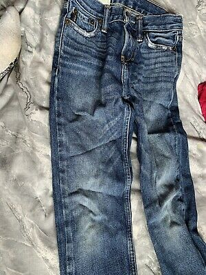 Abercrombie And Fitch Blue Jeans Size 8 Slim Boys