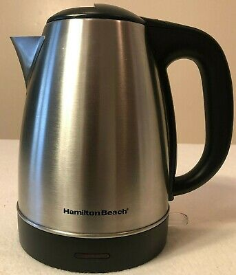 Hamilton Beach Stainless Steal Electric Coffee Percolator!