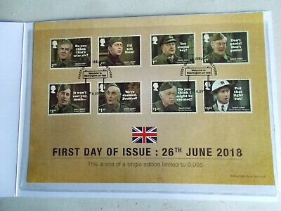 Dads Army Fdc Cover In Wallet As Issued By Westminster Collections
