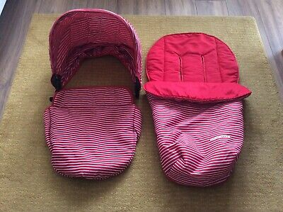 Mothercare Xpedior Colour Pack In Red/White Stripes