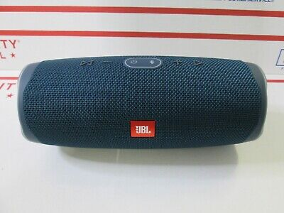 JBL Charge 4 Portable Waterproof Wireless Bluetooth Speaker - Blue