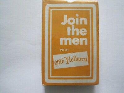 New Sealed Deck of Old Holborn Playing Cards