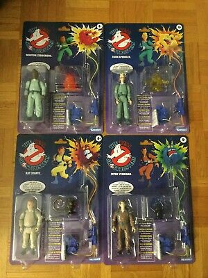 The Real Ghostbusters Kenner 2020 Set of 4 Figures Walmart Exclusive