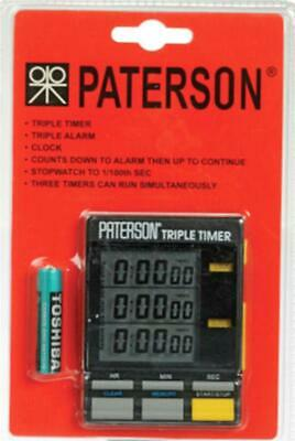 Paterson Triple Timer For Photographic Darkroom Use : Also Kitchen :   PTP 800