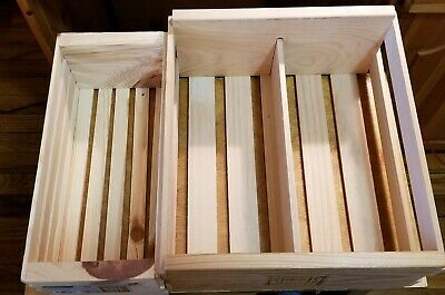 2 CD DVD Storage Crates Case Free Shipping Napa Valley