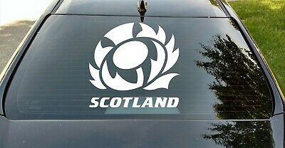 Scotland Scottish Thistle Car Window Home Wall Decal BUY 2 GET 1 FREE