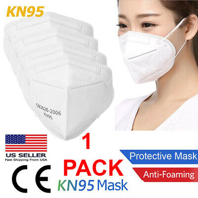 KN95 Disposable Face Mask Protective Mouth Cover Medical Respirator PM2.5 Nose