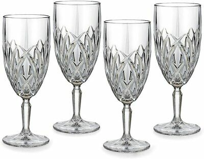 Marquis by Waterford Brookside ICED BEVERAGE SET OF 6 CRYSTAL GLASSES