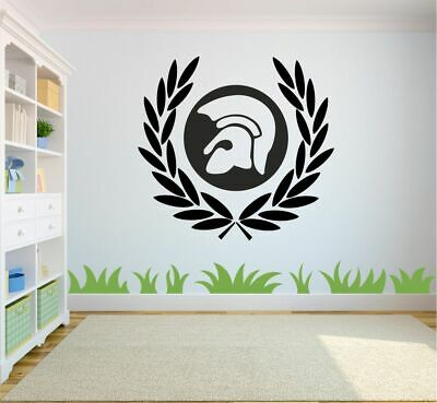 Trojan Laurel Leaf Skinhead SKA MOD Soul Scooter Wall Car Decal BUY 2 GET 1 FREE