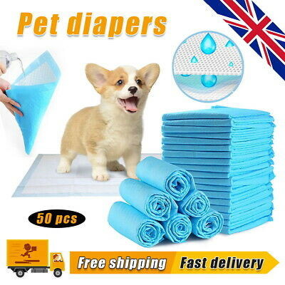 Heavy Duty Dog Puppy Large Training Wee Wee Pads Pad Floor Toilet Mats 60 x 90cm