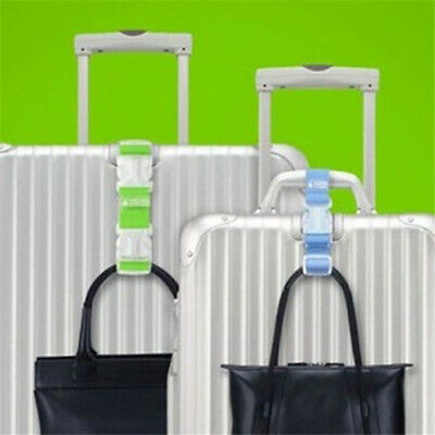 Universal Hanger Buckle Luggage Holder Nylon +Plastic Anti-Theft Saving Strap