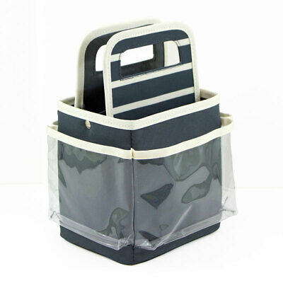 Mini Craft Caddy Grey/Cream 20.32 x 15.88 x 24.77cm Everything Mary EVM9930-6