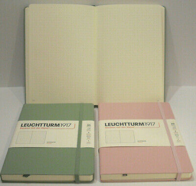 Leuchtturm 1917 Notizbuch Softcover A5 muted colours bellini puder denim salbei