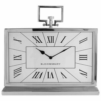 Fifty-Five-South Kensington Townhouse Mantel Clock with Stand