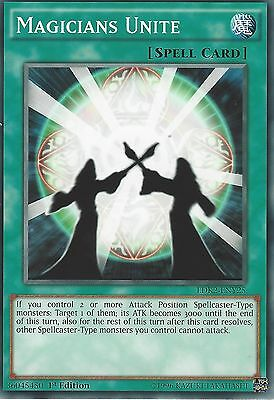 LDK2-ENY10 Dark MagicianUnlimited CommonYuGiOh Trading Card Game TCG