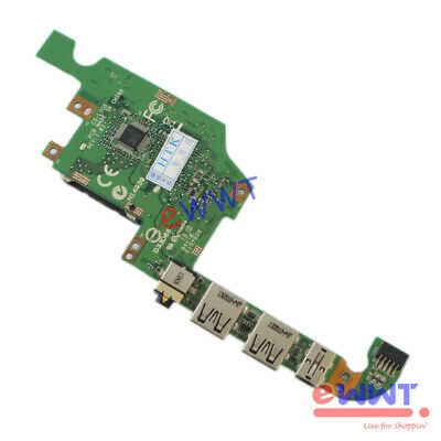 DC Power Jack Audio IO USB Circuit Board 0MGYG9 MGYG9 Replacement for Dell XPS 1810 1820