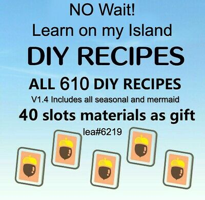Animal Crossing Acnh Diy Item Sets Art Celeste Dal More 2 Off Today 13 00 Picclick