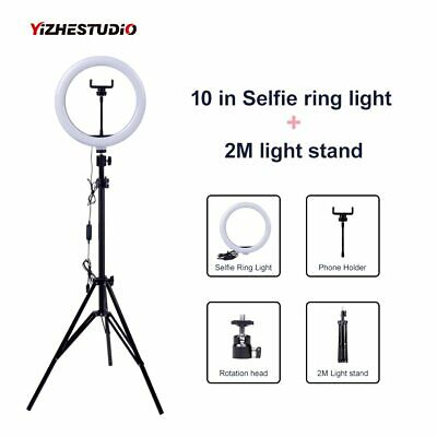 Light Stand YouTube JION Ring Light Kit: 14 34cm External 60w 5500k Dimmable Led Ring Light Camera Carrying Case Smartphone Self Portrait