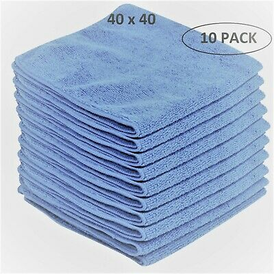 Microfibre **Veltex** *Heavy* Duty Cleaning Polishing Cloth 40 x 40cm - PACK 10