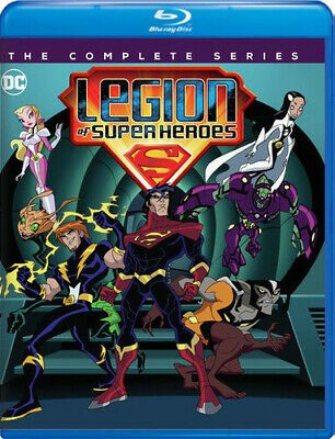Legion of Super Heroes: The Complete Series (DC) [New Blu-ray] Full Fr