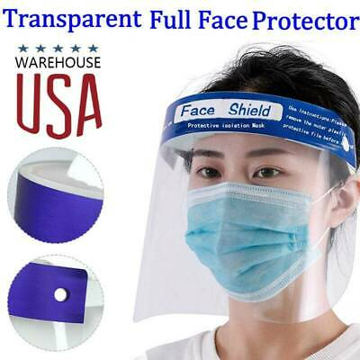 5 PCS Safety Face Shield Anti-Splash Reusable Washable Protection Cover