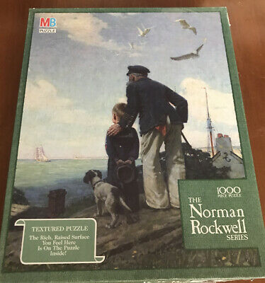Puzzle 1000 Fix Puzzle Glue Fink and Company Inc 9.603 Norman Rockwell The Shiner
