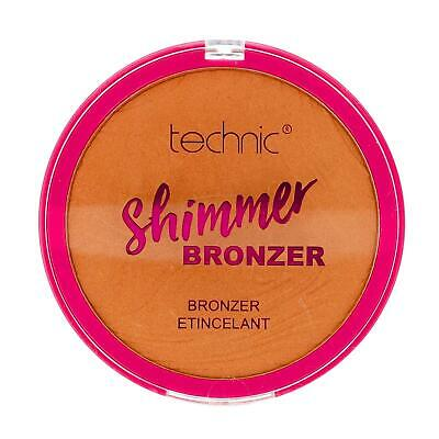 Shimmer Bronzing Bronzer Pressed Powder For Face & Body Large 25g by Technic