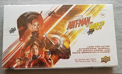 Marvel Ant-Man & The Wasp Hobby Box Upper Deck Trading cards 2018 3 Inserts!!