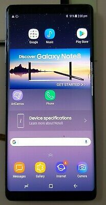 Samsung Note 8 SM N950 Cracked OEM LCD Touch Digitizer Screen Display