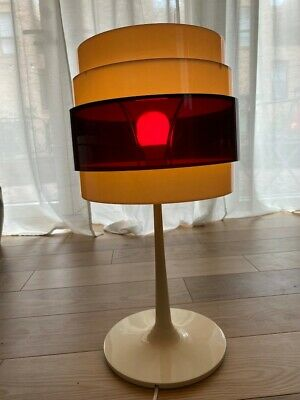 Large Space Age Energy Rock Table Lamp