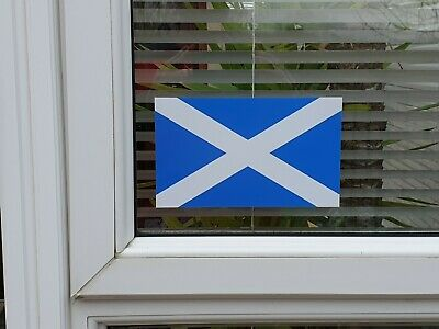 2x Scotland Scottish Saltire Printed Sticker Window Car Wall Laptop BUY2GET1FREE