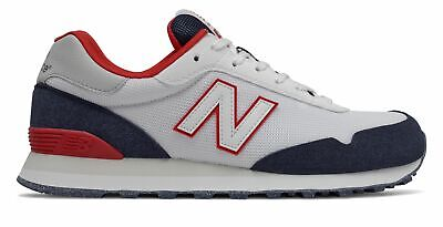 New Balance Men's 515 Shoes White with Black