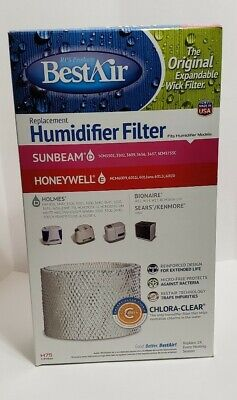 NEW BEST AIR H75 Humidifier Wick Filter Circular Holmes